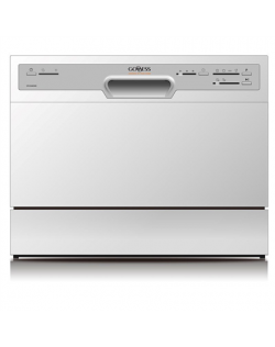 Goddess Dishwasher DTC656MW8F Free standing, Width 55 cm, Number of place settings 6, Number of programs 6, Energy efficiency cl