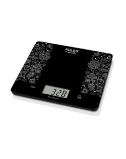 Adler Kitchen scales AD 3171 Maximum weight (capacity) 10 kg, Graduation 1 g, Display type LCD, Black