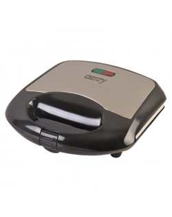 Camry Waffle maker CR 3019 1000 W, Number of pastry 2, Belgium, Black