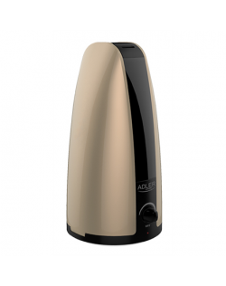 Humidifier Adler AD 7954 Gold, Type Ultrasonic, 18 W, Humidification capacity 100 ml/hr, Water tank capacity 1 L, Suitable for r