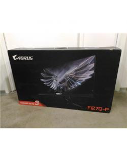 "SALE OUT. GIGABYTE AORUS FI27QP-EK MONITOR 27"" 2560 x 1440/350cd/m2/1ms/12M:1/ HDMI, Display Port Gigabyte Gaming AORUS FI27QP-E"