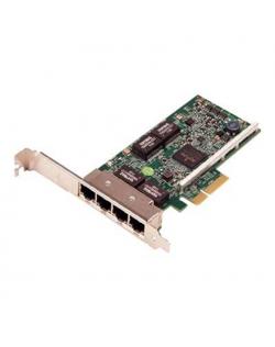 Dell Broadcom 5719 Quad Port 1 Gigabit Network Interface Card Low Profile, Cuskit PCI Express