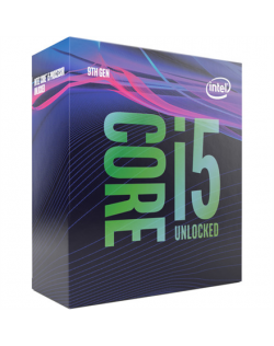 Intel i5-9600K, 3.7 GHz, LGA1151, Processor threads 6, Packing Retail, Processor cores 6, Component for PC