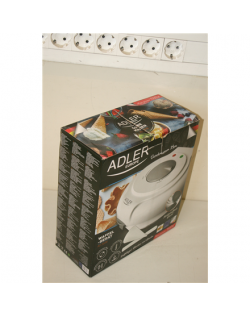 SALE OUT. Adler AD 3038 Waffle maker, 1500W, diameter 18cm, Forming cone included, white Adler Waffle maker AD 3038 1500 W, Numb