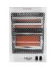 Adler Heater AD 7709 Halogen Heater, 800 W, Number of power levels 2, White
