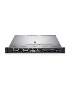 Dell PowerEdge R440 Rack (1U), Intel Xeon, 2x Silver 4214R, 2.4 GHz, 13.75 MB, 24T, 12C, RDIMM, 2666 MHz, No RAM, No HDD, Up to