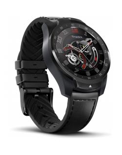 TicWatch Pro Smart watch, NFC, GPS (satellite), AMOLED, Touchscreen, Heart rate monitor, Activity monitoring 24/7, Waterproof, B