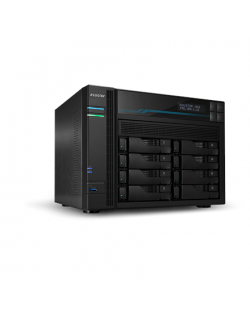 Asus AsusTor 8 Bay NAS AS6508T Up to 8 HDD/SSD, Intel ATOM C3538 Quad-Core, Processor frequency 2.1 GHz, 8 GB, SO-DIMM DDR4, Bla