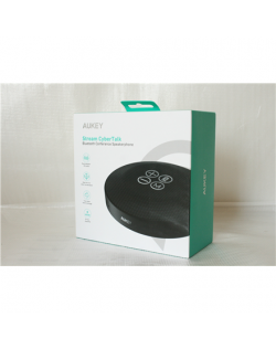SALE OUT. Aukey Bluetooth Speaker SP-A8, Black, USED AS DEMO Aukey Bluetooth meeting-room speaker SP-A8 Bluetooth, Black