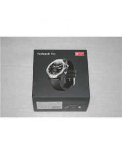 SALE OUT. TicWatch Pro Smart Watche, HR, Silver TicWatch Smart Watche TicWatch Pro Smart watches, NFC, GPS (satellite), AMOLED,