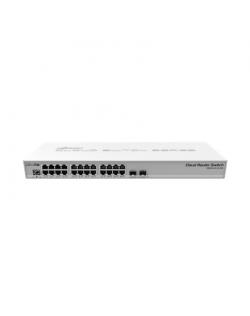 MikroTik Cloud Router Switch CRS326-24G-2S+RM Managed L3, Rack mountable, 1 Gbps (RJ-45) ports quantity 24, SFP+ ports quantity