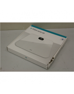 SALE OUT. Fitbit Aria Air Smart Fitness Scales, Global, White Fitbit Smart Fitness Scales Aria Air DAMAGED PACKAGING, Multiple users, Body Mass Index (BMI) measuring