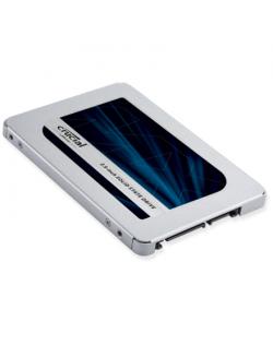 Crucial MX500 250 GB, SSD interface SATA, Write speed 510 MB/s, Read speed 560 MB/s