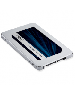 Crucial MX500 1000 GB, SSD interface SATA, Write speed 510 MB/s, Read speed 560 MB/s
