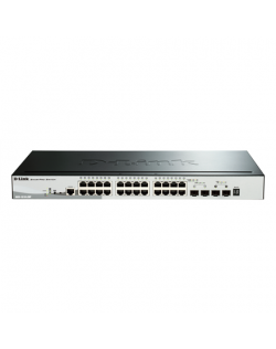 D-Link Switch DGS-1510-28P Web Management, Rack mountable, 1 Gbps (RJ-45) ports quantity 24, SFP ports quantity 2, SFP+ ports qu