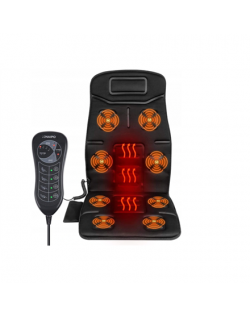 Naipo MGC-168 Massage Seat Cushion Heat function, Black