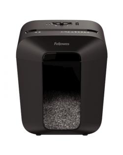 Fellowes Powershred LX41 Black, 17 L, Credit cards shredding, Mini-Cut Shredder, Paper handling standard/output 8 sheets per pas