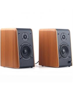 Microlab B-77 Speaker type 2.0, 3.5mm, Light wood, 48 W