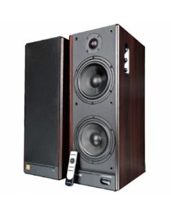 Microlab Solo9C Speaker type 2.0, 3.5mm/Optical/Coaxial/HDMI, Black/Dark wooden, 140 W