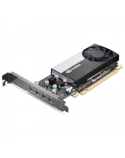 Lenovo mini DP*4 Graphics Card with HP bracket NVIDIA, 4 GB, T600, GDDR6, PCI Express x16, Cooling type Active