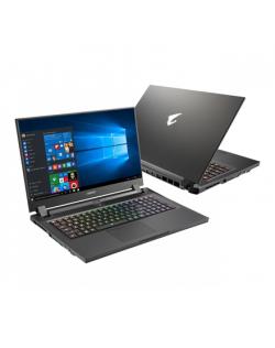 "Gigabyte AORUS 17G XD-73EE345SH Black, 17.3 "", OLED, FHD, 1920 x 1080, Intel Core i7, 11800H, 32 GB, DDR4, SSD 512 GB, NVIDIA GeForce RTX 3070Q, GDDR6, 8 GB, Windows 10 Pro, 802.11ax, Bluetooth version 5.2, Keyboard backlit, Battery warranty 12 month(s)"
