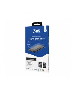3MK HardGlass Max For iPhone 12/12 Pro, Black, Antifingerprint screen protector