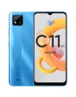 "Realme C11 Blue, 6.52 "", IPS LCD, 720 x 1600, Unisoc SC9863A, Internal RAM 2 GB, 32 GB, MicroSDXC, Dual SIM, Nano-SIM, 3G, 4G, Main camera 8 MP, Secondary camera 5 MP, Android, 11, 5000 mAh"