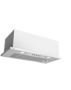 Gorenje Hood DKI550M Canopy, Energy efficiency class D, Width 55 cm, 305 m³/h, Mechanical control, LED, Stainless steel