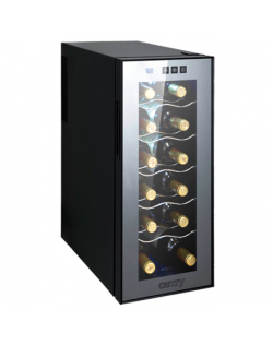 Camry Wine Cooler CR 8068 Free standing, Bottles capacity Up to 12 bottles, Black