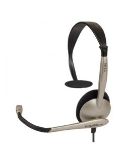 Koss Headphones CS95 Headband/On-Ear, 3.5mm (1/8 inch), Microphone, Black/Gold,