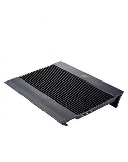 """deepcool N8 black Notebook cooler up to 17"""" 1244g g, 380X278X55mm mm"""