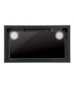 CATA Hood GC DUAL A 75 XGBK/D Energy efficiency class A, Canopy, Width 75 cm, 820 m³/h, Touch control, Black glass, LED