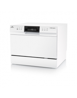 ETA Dishwasher ETA138490000 Table, Width 55 cm, Number of place settings 6, Number of programs 8, A+, Display, AquaStop function