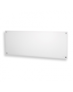 Mill Heater MB1200DN Glass Panel Heater, 1200 W, Number of power levels 1, Suitable for rooms up to 14-18 m², White