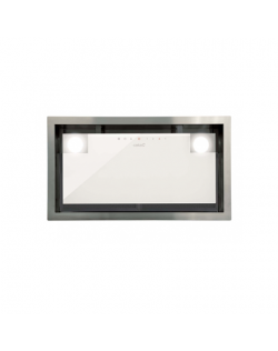 CATA Hood GC DUAL A 45 XGWH/D Energy efficiency class A, Canopy, Width 45 cm, 820 m³/h, Touch control, White glass, LED