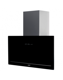 CATA Goya 70 BK Energy efficiency class A+, Wall mounted, Width 70 cm, Black glass, LED