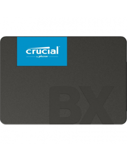 """Crucial BX500 120 GB, SSD form factor 2.5"""", SSD interface SATA, Write speed 500 MB/s, Read speed 540 MB/s"""