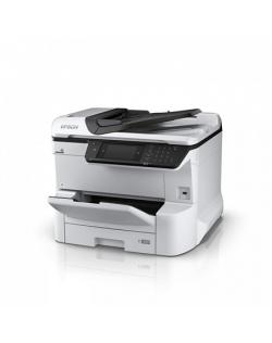 Epson Multifunctional printer WF-C8610DWF Colour, Inkjet, All-in-One, A3, Wi-Fi, Grey/Black