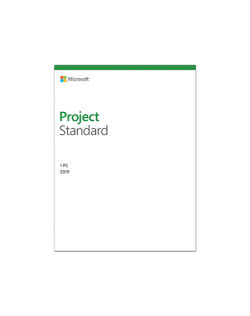 Microsoft 076-05785 Project Standard 2019 ESD, Multilingual