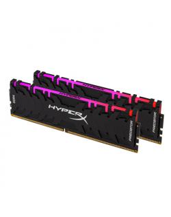Kingston HyperX Predator RGB 16 Kit (8GBx2) GB, DDR4, 3200 MHz, PC/server, Registered No, ECC No