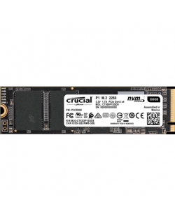 Crucial P1 500 GB, SSD interface M.2 NVME, Write speed 950 MB/s, Read speed 1900 MB/s