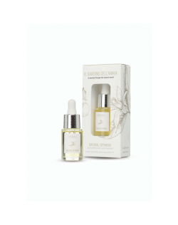 Mr&Mrs The Giardino dell'Anima Hydro aromatic oil JGIAOIL004 15 ml, Natural Optimism. Concentration and memory, White
