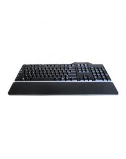 Dell Keyboard US/European (QWERTY) Dell KB-813 Smartcard Reader USB Keyboard Black Kit Dell US/LT