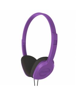 Koss Headphones KPH8v Headband/On-Ear, 3.5mm (1/8 inch), Violet,