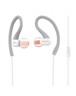 Koss Headphones KSC32iGRY In-ear/Ear-hook, 3.5mm (1/8 inch), Microphone, Grey,