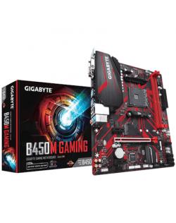 Gigabyte B450M GAMING 1.0 M/B Processor family AMD, Processor socket AM4, DDR4 DIMM, Memory slots 2, Number of SATA connectors 4