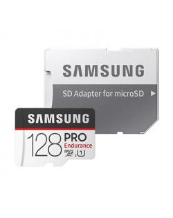 Samsung PRO Endurance 128 GB, MicroSDXC, Flash memory class 10, Adapter