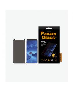 PanzerGlass Samsung, S9 Plus, Glass, Black, Privacy glass, Case friendly