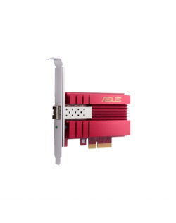 Asus XG-C100F 10G PCIe Network Adapter SFP+ port for Optical Fiber Transmission and DAC cable 10/100/1000/10000 Mbit/s