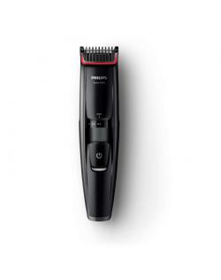 Philips Beard Trimmer BT5200/16 Cordless, Step precise 0,2 mm, 17 length steps, Black